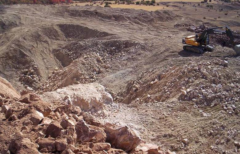 Abbau & Förderung von Eisen-Erz in der Türkei