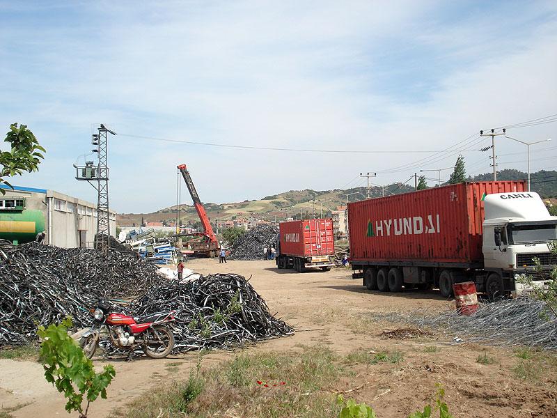 Export von Kupferkabeln & Kupferschrott (Türkei)