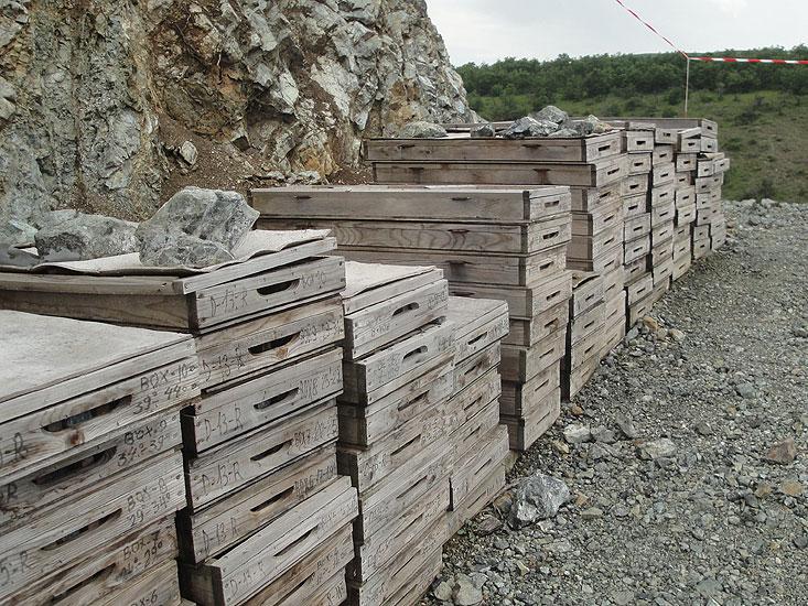Abbau & Förderung von Chrom-Erz im Balkan